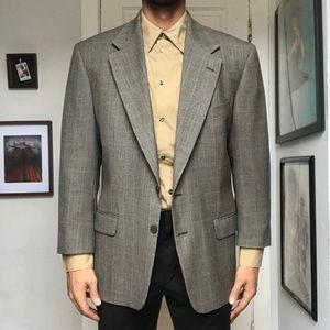 Calvin Klein Neiman Marcus Glen Plaid Sport Coat